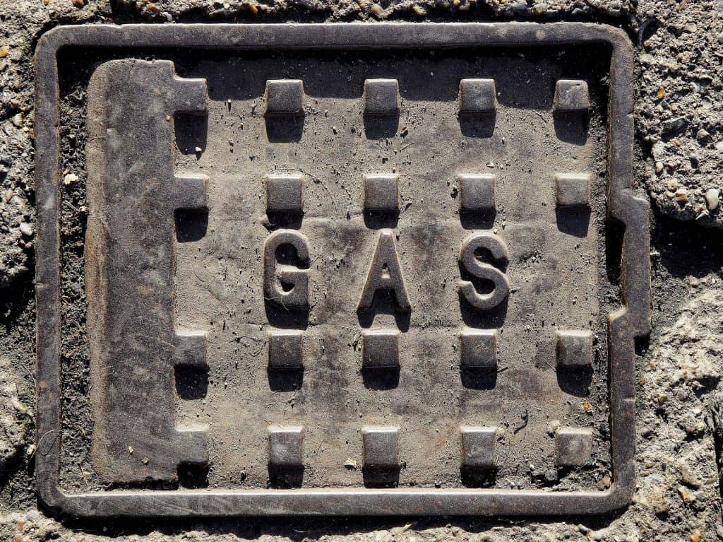 gas man hole cover