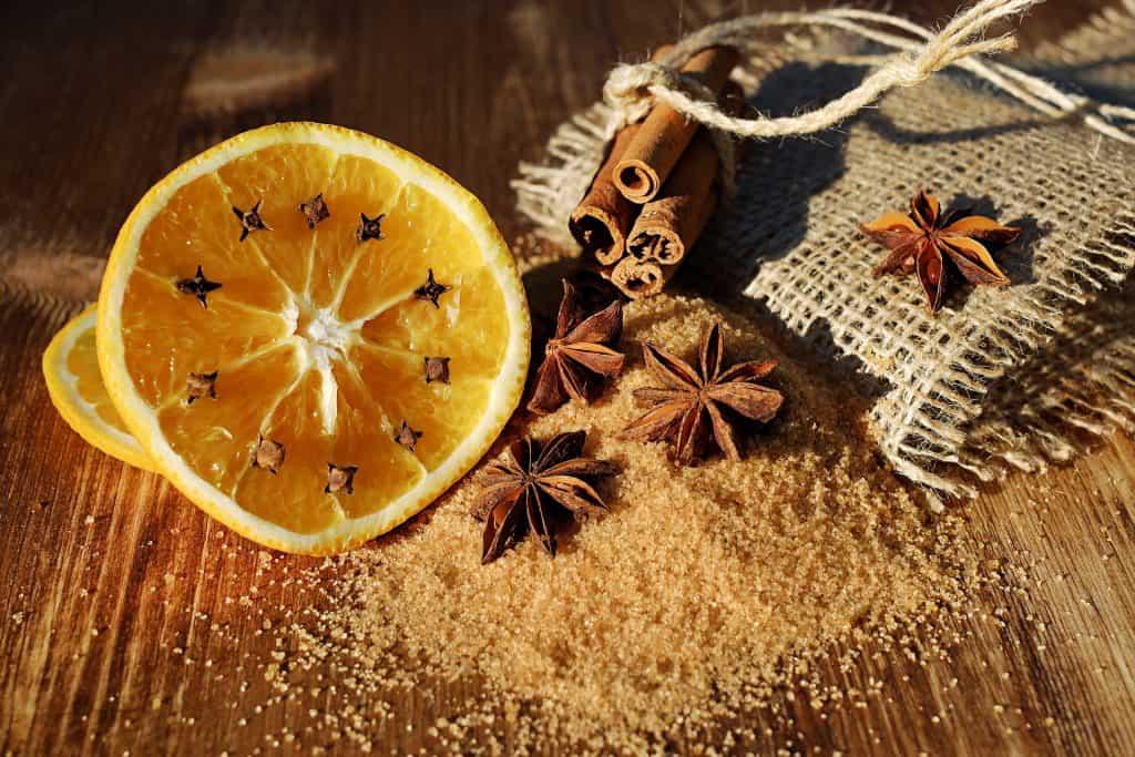 orange and decorations