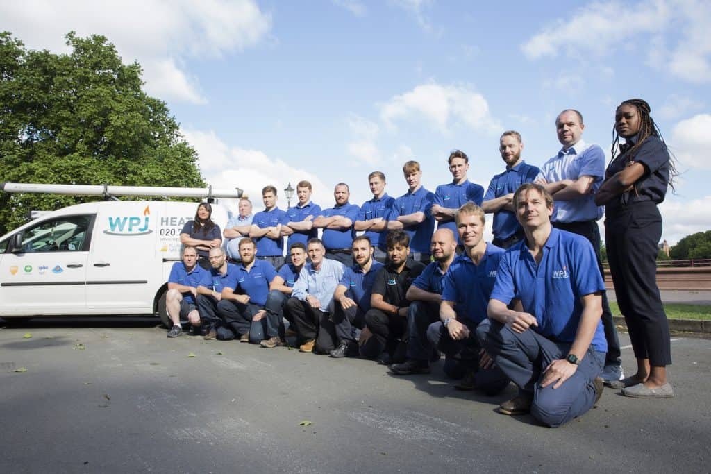 plumbing heating engineer WPJ team