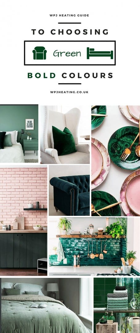 wpj guide - decorating with green