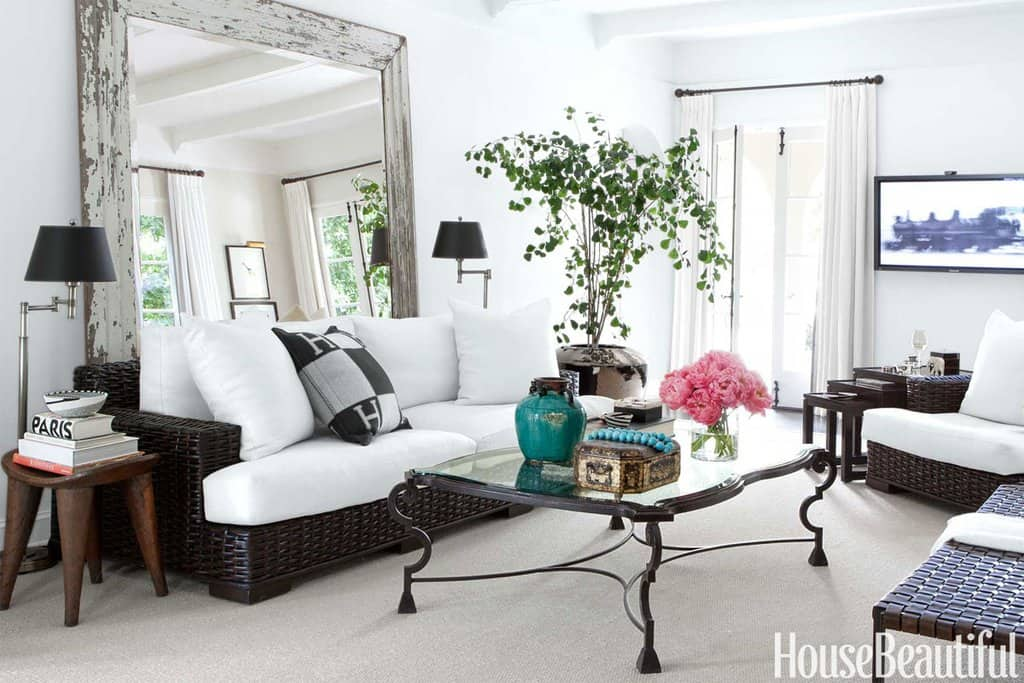 small space look big - house beautiful