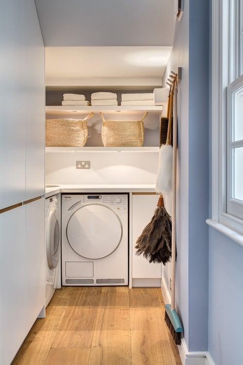 contemporary utility room
