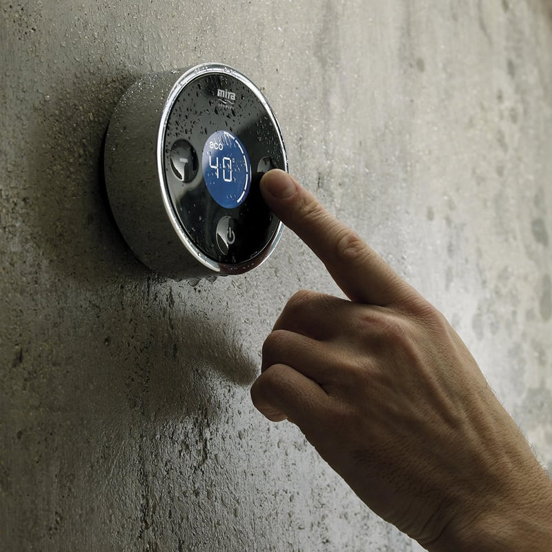 shower smart thermostat control