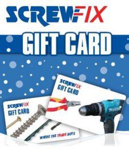 ScrewFix Gift card