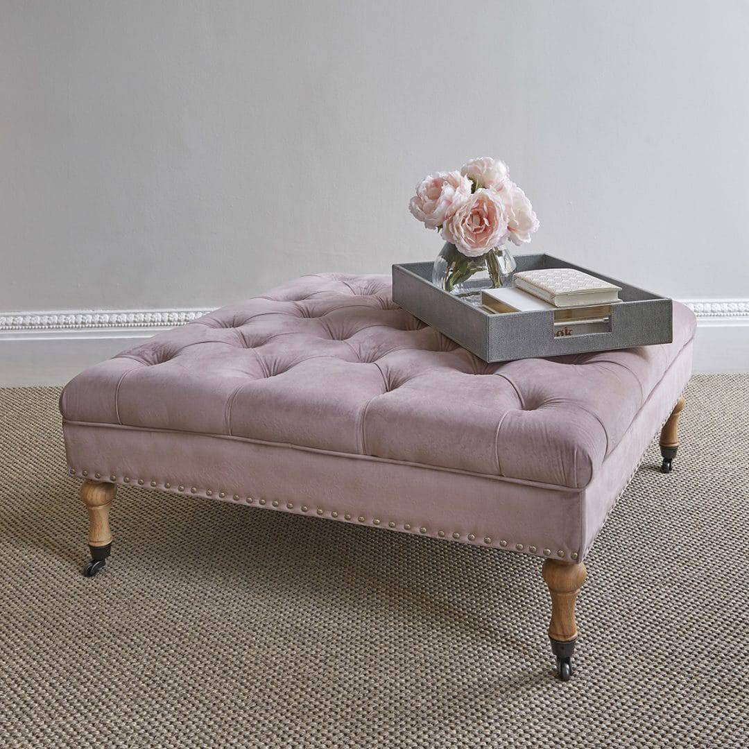 dusty pink furniture